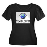 World's Greatest SEMIOLOGIST Women's Plus Size Sco
