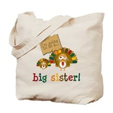 little turkey sister Tote Bag