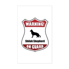 Shiloh On Guard Rectangle Decal