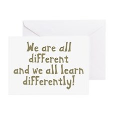 We're all Different Greeting Cards (Pk of 10)