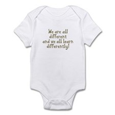 We're all Different Infant Bodysuit