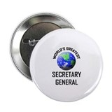 World's Greatest SECRETARY GENERAL 2.25&quot; Button (1