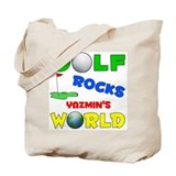 Golf Rocks Yazmin's World - Tote Bag