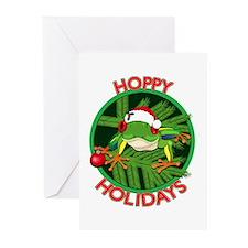 HoppyHolidays Greeting Cards (Pk of 10)