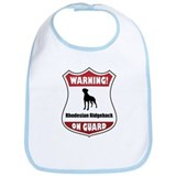 Ridgeback On Guard Bib