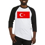 Turkey Turkish Blank Flag Baseball Jersey