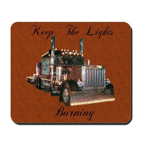 Keep The Lights Burning Mousepad