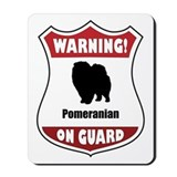 Pomeranian On Guard Mousepad