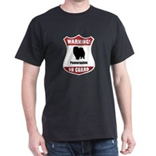 Pomeranian On Guard T-Shirt