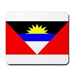 Antigua Barbuda Blank Flag Mousepad