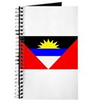 Antigua Barbuda Blank Flag Journal