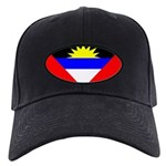 Antigua Barbuda Blank Flag Black Cap