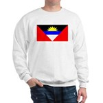 Antigua Barbuda Blank Flag Sweatshirt