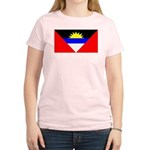 Antigua Barbuda Blank Flag Women's Light T-Shirt