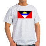 Antigua Barbuda Blank Flag Light T-Shirt