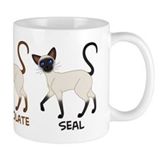 Three Siamese Cats Mug