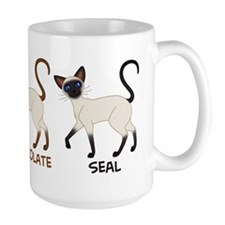 Three Siamese Cats Mug