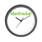 Mantracker 3 Wall Clock