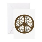 Peace Sign / Symbol Vintage Greeting Cards (Pk of