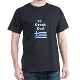 #1 Greek Dad T-Shirt