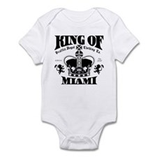 """KING OF MIAMI"" Infant Bodysuit"