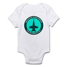 Negative Ghostrider The Patte Infant Bodysuit