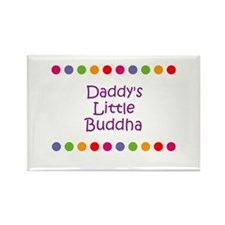 Daddy's Little Buddha Rectangle Magnet (10 pack)