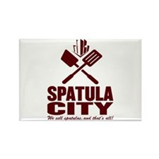 spatula city Rectangle Magnet