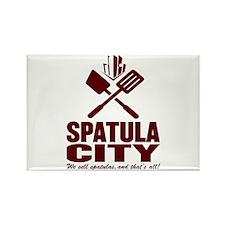 spatula city Rectangle Magnet
