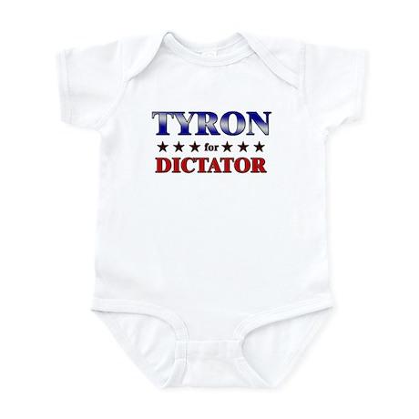 TYRON for dictator Infant Bodysuit