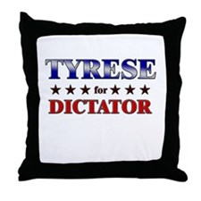 TYRESE for dictator Throw Pillow