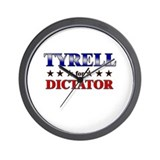 TYRELL for dictator Wall Clock