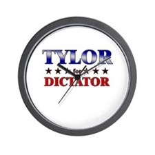 TYLOR for dictator Wall Clock