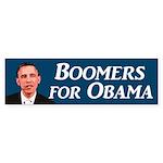 Boomers for Obama bumper sticker