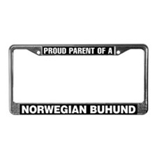 Norwegian Buhund License Plate Frame
