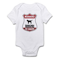 Swissie On Guard Infant Bodysuit