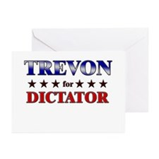 TREVON for dictator Greeting Cards (Pk of 20)