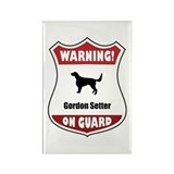 Setter On Guard Rectangle Magnet (10 pack)