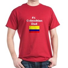 #1 Colombian Dad T-Shirt