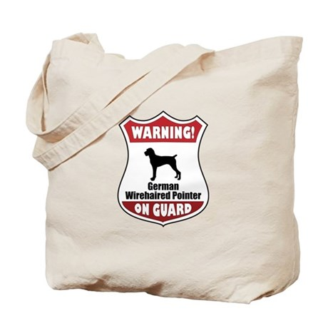 Pointer On Guard Tote Bag