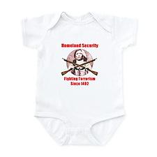 Homeland Security Infant Bodysuit
