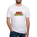 ABOLISH LIBERALISM Fitted T-Shirt
