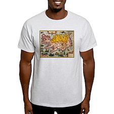 """Iceland Map"" T-Shirt"