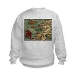 """Ancient Norway Map"" Sweatshirt"