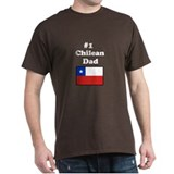 #1 Chilean Dad T-Shirt