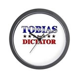 TOBIAS for dictator Wall Clock