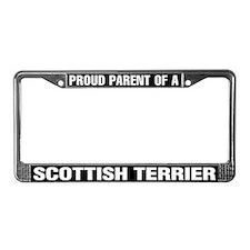Scottish Terrier License Plate Frame