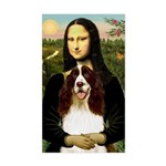 Mona/ English Springer Sticker (Rectangle)