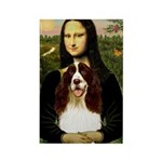 Mona/ English Springer Rectangle Magnet (10 pack)