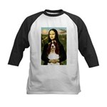 Mona/ English Springer Kids Baseball Jersey